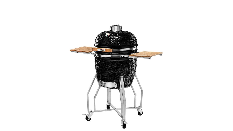 Kamado Chef 1900 barbecue Prestige Diamond Black RVS - USA Spa's Coevorden