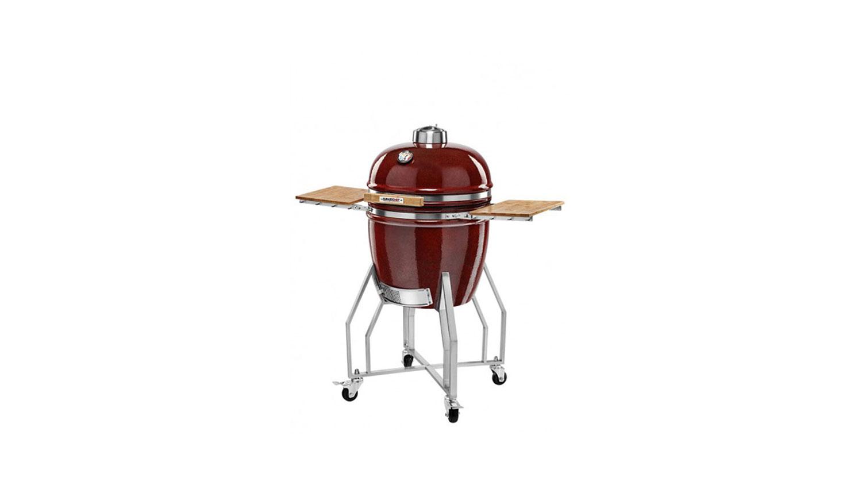 Kamado Chef 1900 barbecue prestige red smooth - USA Spa's Coevorden