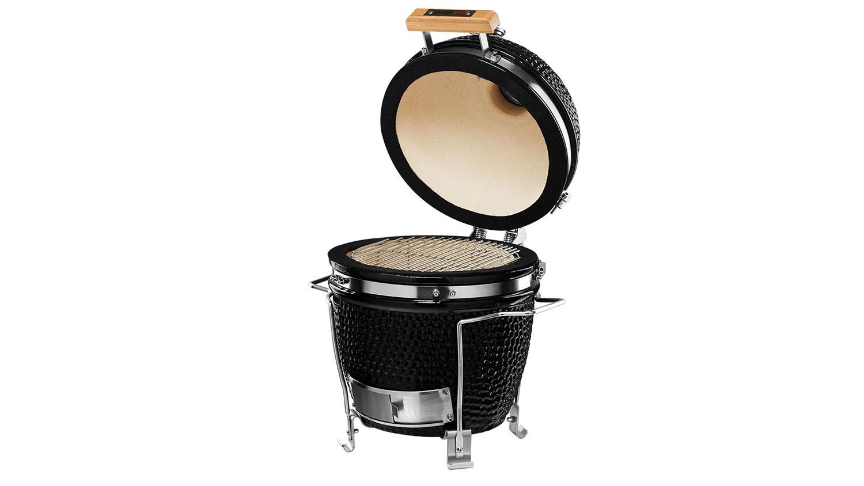 Kamado Chef 1100 barbecue Pestige Diamond Black RVS - USA Spa's Coevorden