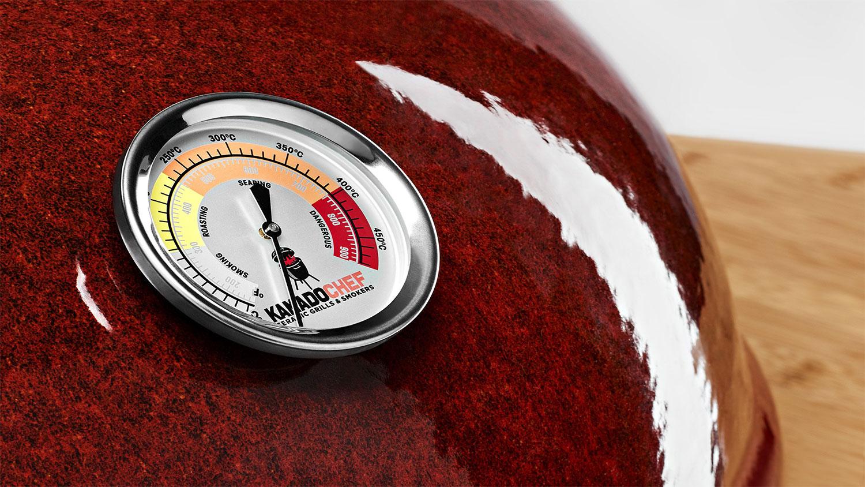 Kamado Chef Barbecue Thermometer - USA Spa's Coevorden